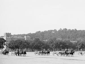 Light Artillery Drill, Horse Battery, under Way, United States Military Academy, West Point, N.Y.