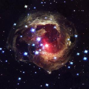 Light Echoes Around V838 Monocerotis Star