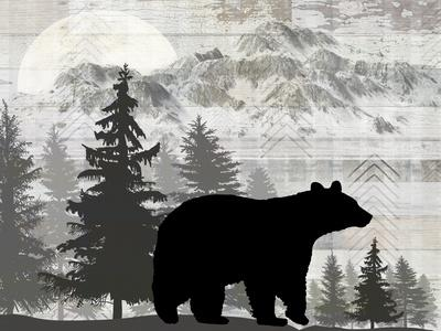 Blue Bear Lodge Sign 012