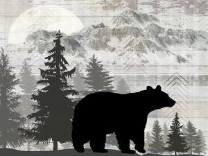 Blue Bear Lodge Sign 012 by LightBoxJournal