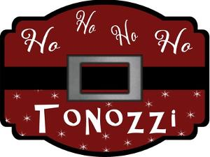Personalized Christmas Sign V20 V2 by LightBoxJournal