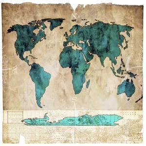 Sea Map I by LightBoxJournal