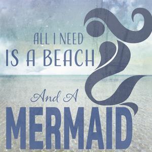 Signs_SeaLife_Typography_BeachAndAMermaid by LightBoxJournal
