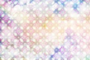 White Spring Blossoms Pattern 01 by LightBoxJournal