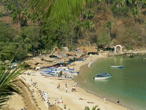 Beach, Mismaloya, Puerto Vallarta, Mexico, North America by Lightfoot Jeremy