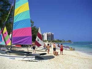 Cable Beach, Nassau, Bahamas, West Indies, Central America by Lightfoot Jeremy
