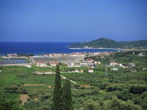 Coastline at Alykes and Alykanas, Zakynthos, Ionian Islands, Greek Islands, Greece, Europe by Lightfoot Jeremy