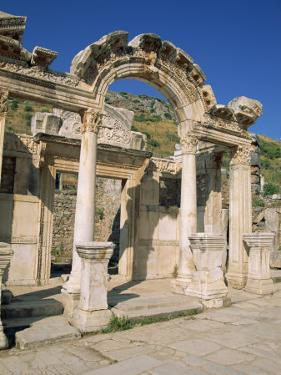 Columns of the Aphrodite Temple at the Archaeological Site of Aphrodisias, Anatolia, Turkey Minor by Lightfoot Jeremy