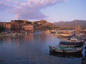 Harbour, Molyvos, Lesbos, Greek Islands, Greece, Europe by Lightfoot Jeremy