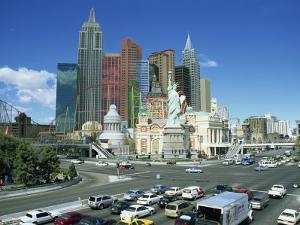 Hotel Newyork Newyork, One Third Size Replica of Original Building, Las Vegas, Nevada, USA by Lightfoot Jeremy
