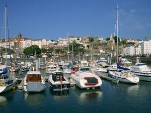 Marina at St. Peter Port, Guernsey, Channel Islands, United Kingdom, Europe by Lightfoot Jeremy