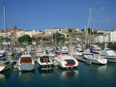 Marina at St. Peter Port, Guernsey, Channel Islands, United Kingdom, Europe