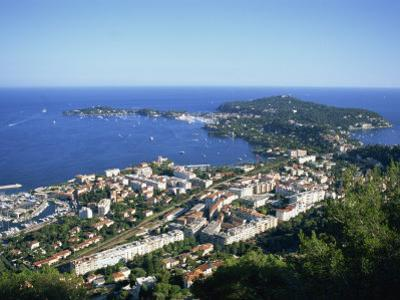 Town of Villefranche and Cap Ferrat on the Cote D'Azur, Provence, France, Europe
