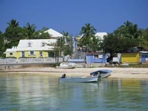 Waterfront and Beach, Dunmore Town, Harbour Island, Bahamas, West Indies, Central America by Lightfoot Jeremy