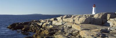 Lighthouse at the Coast, Peggy's Point Lighthouse, Peggy's Cove, Halifax Regional Municipality, ...