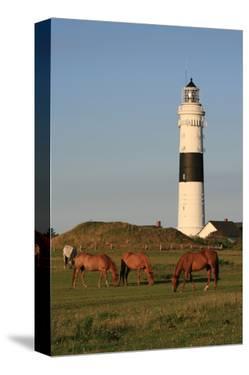 Lighthouse in Kampen, Sylt, Schleswig Holstein, Germany