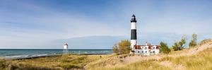 Lighthouse on the Coast, Big Sable Point Lighthouse, Lake Michigan, Ludington, Mason County