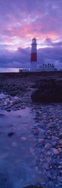 Lighthouse on the Coast, Portland Bill Lighthouse, Portland Bill, Dorset, England