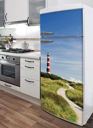 Lighthouse Refrigerator Decal