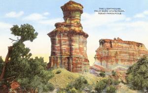 Lighthouse Rock, Palo Duro Park, Texas