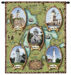 Lighthouses of the Great Lakes