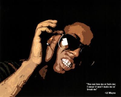 Lil Wayne Quote Music Poster Print