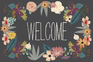 Welcome Bouquet in Grey by Lila Fe