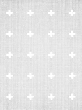 Crosses On Grey by LILA X LOLA