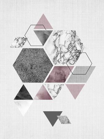 Geometric Hexagons by LILA X LOLA