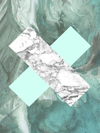 Geometric Marble X by LILA X LOLA