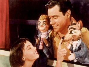 Lili, Leslie Caron, Mel Ferrer, 1953
