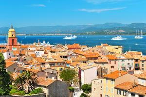 Beautiful View of Saint-Tropez. France, Provence by LiliGraphie