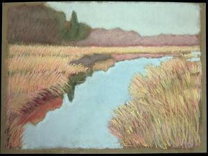 Full Tide, 1990 by Lillian Delevoryas