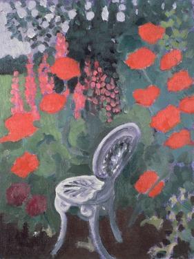 Garden Chair by Lillian Delevoryas