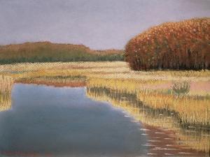 New England Autumn, 1990 by Lillian Delevoryas