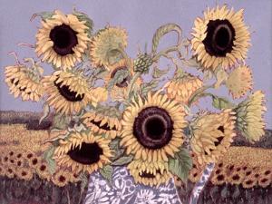 Sun Queen, 1995 by Lillian Delevoryas