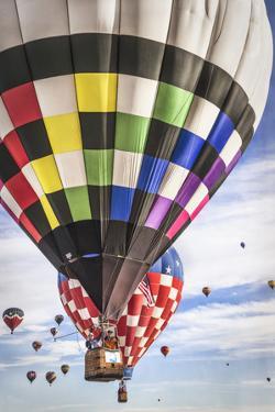 Hot Air Balloons Descending by Lillis Werder