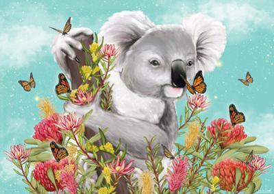 Koala Butterfly by Lilly Perrott