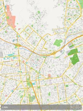 Lima, Peru Map