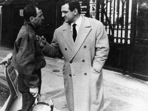 """Charles Aznavour and Lino Ventura (episode """"Homicide point ne seras""""): Le Diable et Les Dix Command by Limot"""