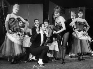 """Cyd Charisse and Roland Petit segment """"Deuil en 24 heures"""": Les Collants Noirs, 1960 by Limot"""