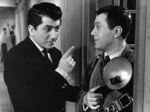 Daniel Gélin and Robert Hirsch: En Effeuillant La Marguerite, 1956 by Limot