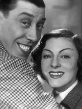 Gaby Morlay and Fernandel: Hercule, 1937 by Limot