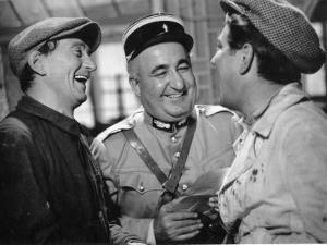 Jean Gabin, Aimos and Fernand Charpin: La Belle Équipe, 1936 by Limot