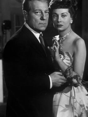 Jean Gabin and Françoise Christophe: Victor, 1951 by Limot
