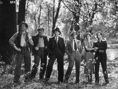 Jean Gabin, Charles Vanel, Raymond Aimos, Charles Dorat, Rafael Medina, Micheline Cheirel: La Belle