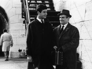 """Louis de Funès and Jean-Claude Brialy (episode """"Bien d'autrui ne prendras""""): Le Diable et Les Dix C by Limot"""
