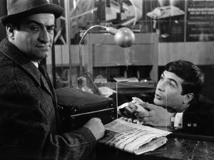 Louis de Funès and Jean-Claude Brialy: Le Diable et Les Dix Commandements, 1962 by Limot