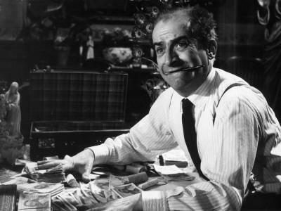 """Louis de Funès (episode """"Bien d'autrui ne prendras""""): Le Diable et Les Dix Commandements, 1962"""