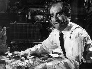 """Louis de Funès (episode """"Bien d'autrui ne prendras""""): Le Diable et Les Dix Commandements, 1962 by Limot"""